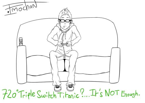 A friend who like his PS3 [Lineart] by ImmortalAngelSanctum