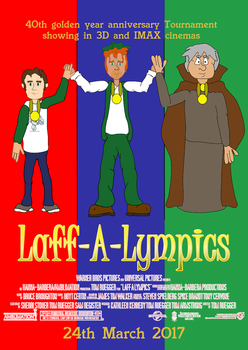 Laff-A-Lympics (2017) main poster by TomArmstrong20