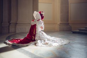 Queen Esther's prayer by lilie-morhiril