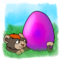 Psychic Egg SOLT by CaptainLaylie