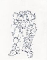 Inked Military Mech by Xenomech