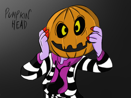 Pumpkin-headed by Arkyz