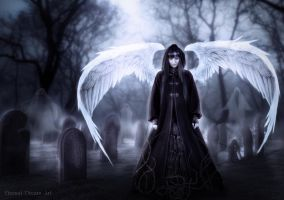 The angel of the lost souls by Eternal-Dream-Art