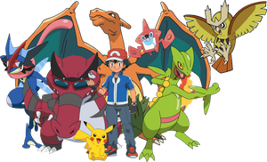 Pokemon - Ash Perfect Team