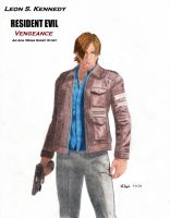 Leon S. Kennedy by BGShepard
