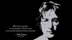 John Lennon Quote by RSeer