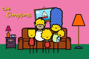 the siimpsons by sooperdave