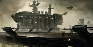 Military facility by JakeMifsud