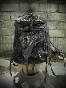 Leather Backpack by BrendaWilson01