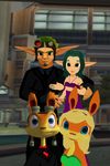 Jak x Keira Hagai and Daxter x Tess  Haven Night by 9029561