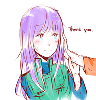 thank you. by Nekuri-kun