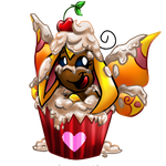 Chanty in a cupcake by MyFantasyZone