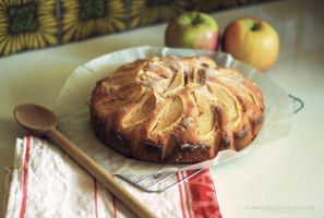 Apple Teacake by FlabnBone