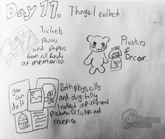 30DaysOfLists: 11 - Things I collect by Churichan