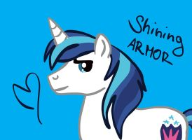 Shining Armor by Tayarinne
