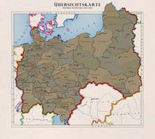 Bezirke Deutschlands 1956 by Kristo1594