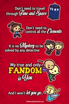 You are my Fandom by Thiefoworld