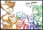 TMNT PD : The whole fam by xX-AirinNix-Xx