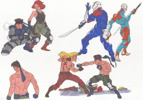 Metal_Gear_Solid_Doodles01_sept2012 by AlexBaxtheDarkSide