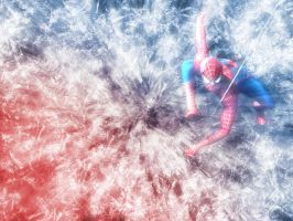 Spiderman Abstract by b3h1ndu