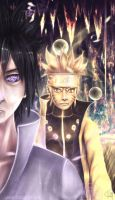 680 - Sasuke and Naruto friends forever by iDaisan