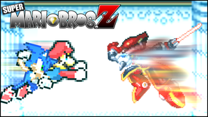 Battle#34 - Mario and Sonic vs. Boomer by xXBrawlStudiosXx