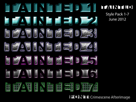 Tainted Style Pack 1-7 - June 2012 by theburningmuse
