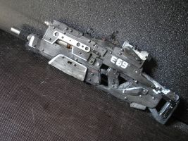 Rifle of far future no.: E.69 by HorcikDesigns