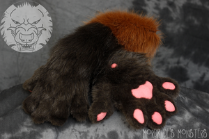 Handpaws for Hazzardwolf by fenrirschild