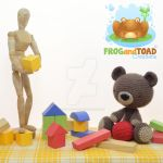 TEDDY le Nounours Photo Shoot by FROG-and-TOAD