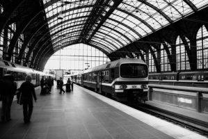 Antwerp Central Station by Aloba