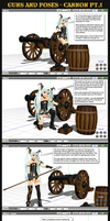 MMD Guns+Poses - Vintage Cannons by Trackdancer