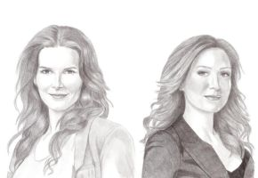 Rizzoli and Isles by Lady-Hannah