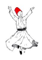 Sufi Whirling by Iyeq