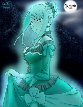 Lady Lucy's Ghost by BlueSpiritFire1