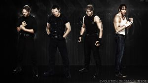Evolution of Dean Ambrose - WWE 2012 - 2014 ~ HQ by JusttJaa
