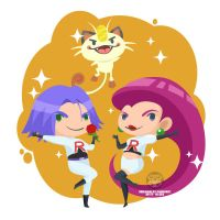 Day 179 - Team rocket by salvadorkatz