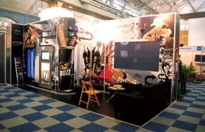 JTC stand graphics by cherry-candi