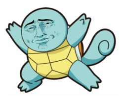 Squirtle  Uhhh by ManiacPaint