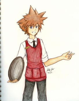 KH Jobs - Sora by aoi-ryuu