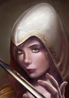 Assassin's creed Woman Portret by Goshadude89