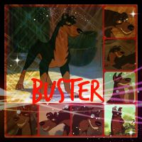 ( Lady and the Tramp 2 ) Buster Collage by KrazyKari