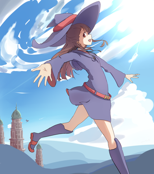 Let's become a witch by TouhouSuki