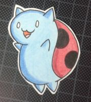 Happy basic Catbug ~ by HokinaCosplay