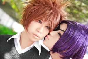 KHR - Tsuna x Chrome by Xeno-Photography