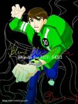 BEN10AF: Ben and Kevin11000 by BloodBlueRain