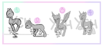 .: MLP YCH:. ~Customs~ (5/5 slots open!) by AdoptablesLiveHere