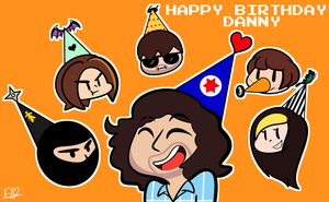 Grumpy Birthday Danny Sexbang by DuckyDeathly
