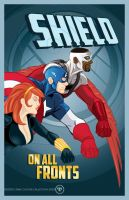 S.H.I.E.L.D. On All Fronts by seanwthornton