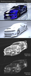 3D Mustang process stuff by Laggtastic